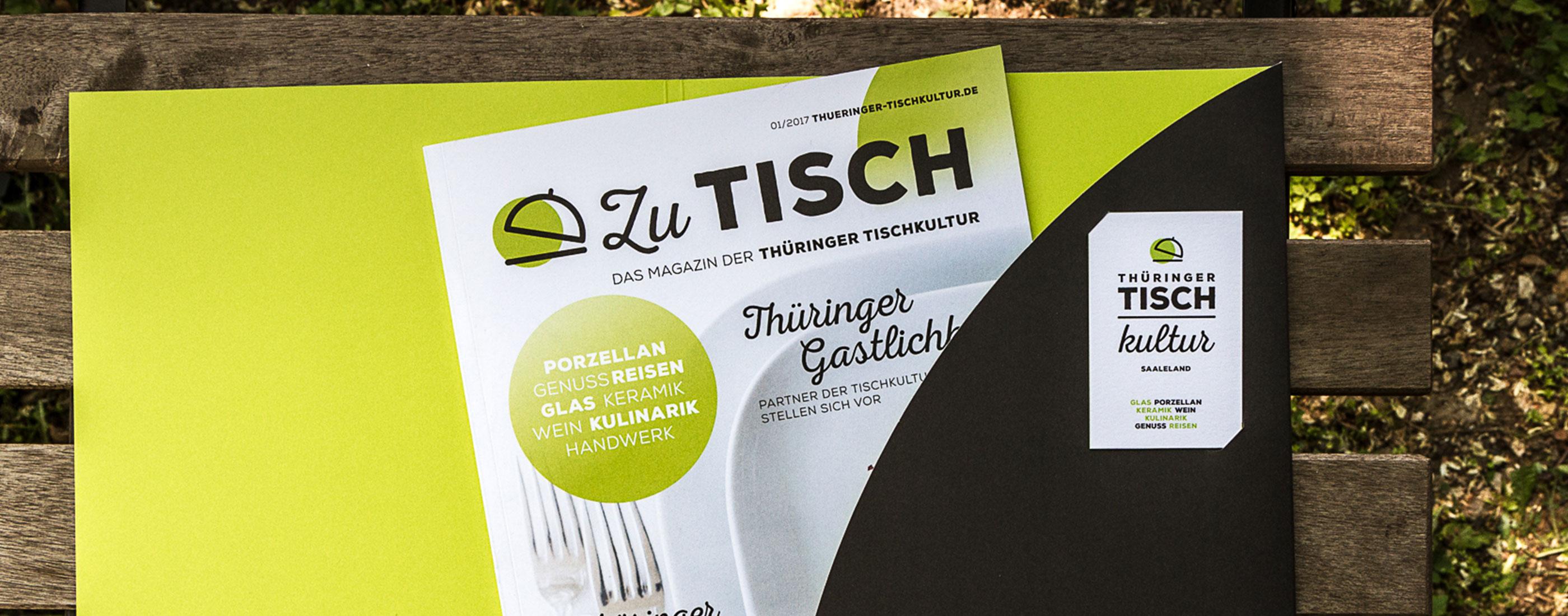 Titel Magazin Thüringer Tischkultur