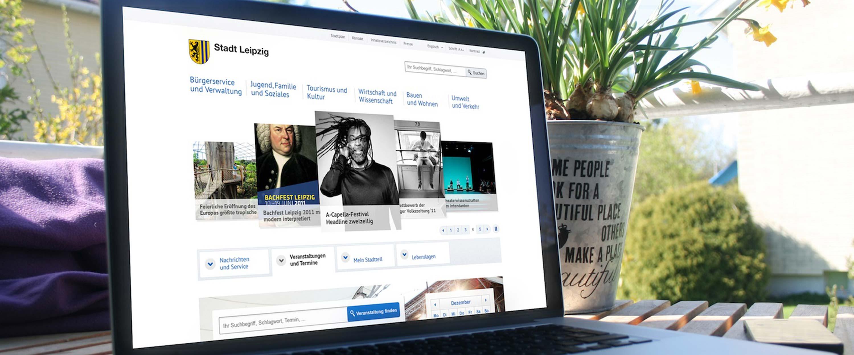 Leipzig_de_Website_Startseite_Erscheinungsbild_Webdesign