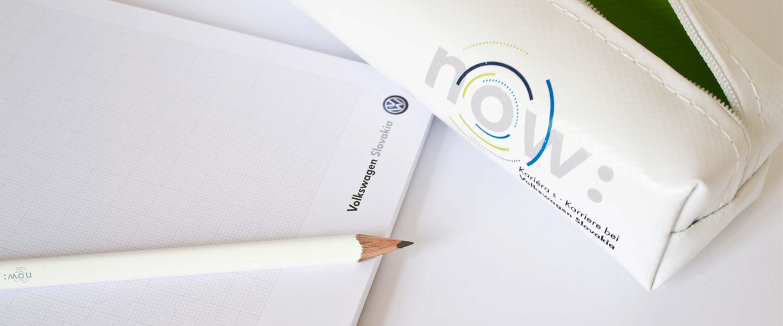 Personalmarketing_Volkswagen_Slovakia_Geschäftsausstattung_Büromaterialien_Stift_Block_Federtasche