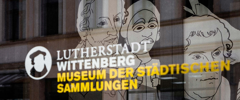Wittenberg_Stadtmuseum_Logo_Tür_Eingang