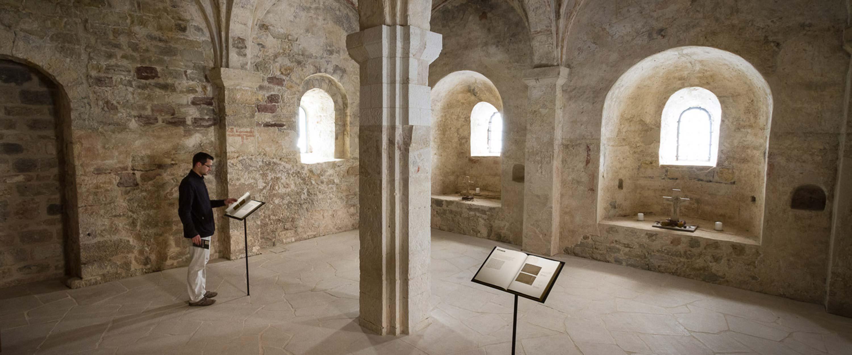 Goseck_Schlosskirche_Abtei_Ausstellung