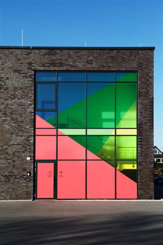 Marken Design Farben Architektur Idee Möglichkeit